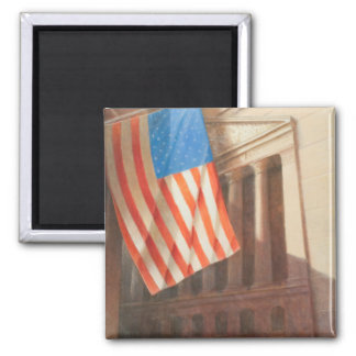 New York Stock Exchange 2010 2 Inch Square Magnet