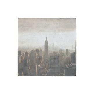 New York Stone Magnet