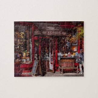 New York - Store - Greenwich Village - Il Cantucci Jigsaw Puzzle