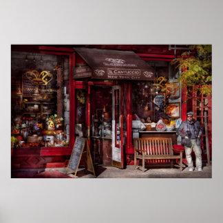New York - Store - Greenwich Village - Il Cantucci Poster