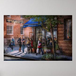 New York - Store - Greenwich Village - Jefferey's Poster