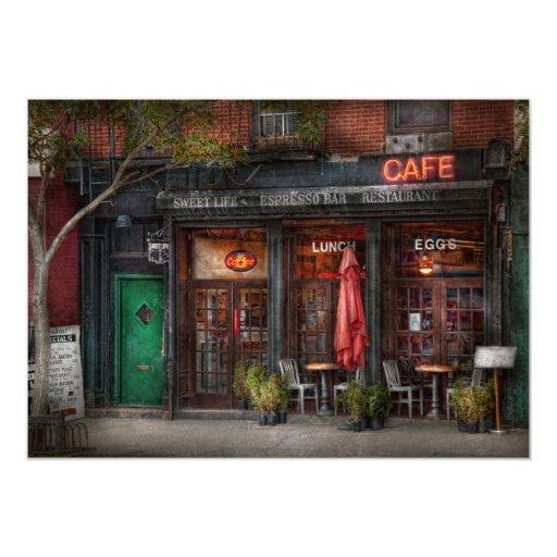 New York - Store - Greenwich Village - Sweet Life Card