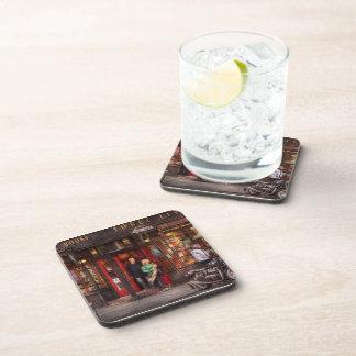 New York - Store - Greenwich Village - Three Lives Beverage Coaster