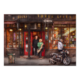 New York - Store - Greenwich Village - Three Lives Card
