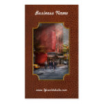 New York - Store - The old delicatessen Double-Sided Standard Business Cards (Pack Of 100)