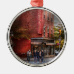 New York - Store - The old delicatessen Christmas Tree Ornament
