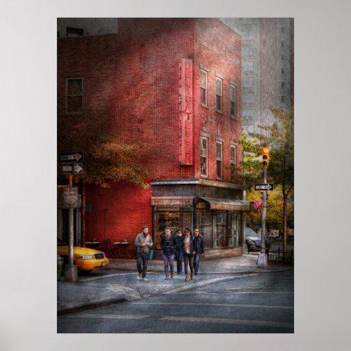 New York - Store - The old delicatessen Print