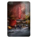 New York - Store - The old delicatessen Vinyl Magnet