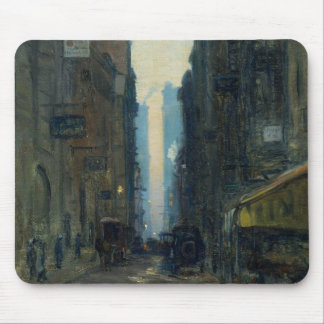 New York Street Scene - Ernest Lawson Mouse Pad