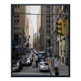 New York Street Scene Posters