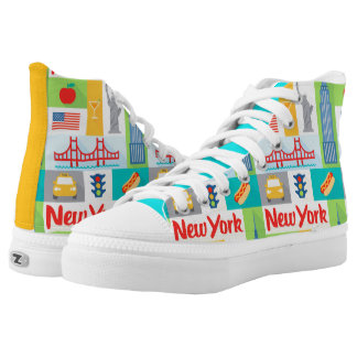 New York street taxi cab scene shoes