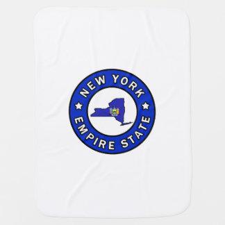 New York Stroller Blanket