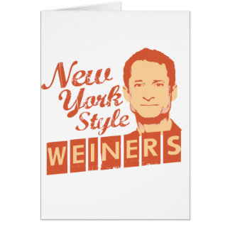 New York Style Weiners Card