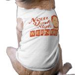 New York Style Weiners Dog T Shirt