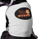 New York Style Weiners Dog Tee Shirt