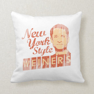New York Style Weiners Faded.png Pillow