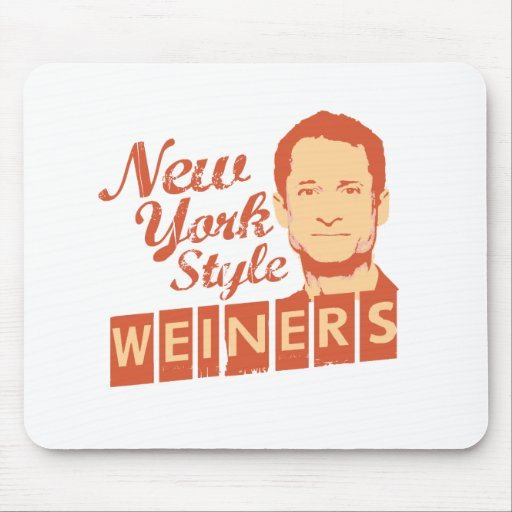 New York Style Weiners Mouse Pad