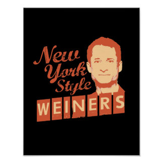 New York Style Weiners Posters