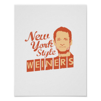 New York Style Weiners Poster