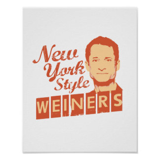 New York Style Weiners Print