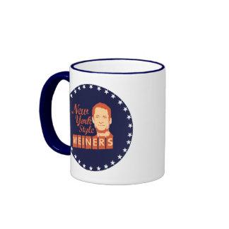 New York Style Weiners Ringer Coffee Mug