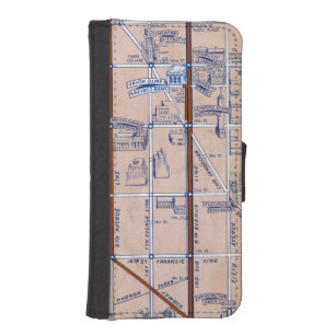 New York Subway Map Wallet.Mta Iphone Cases Covers Zazzle