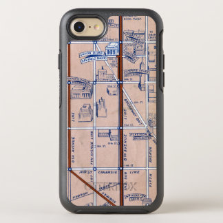 NEW YORK SUBWAY MAP, 1940 2 OtterBox SYMMETRY iPhone 7 CASE