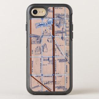 NEW YORK SUBWAY MAP, 1940 2 OtterBox SYMMETRY iPhone 7 CASE