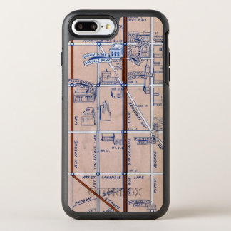 NEW YORK SUBWAY MAP, 1940 2 OtterBox SYMMETRY iPhone 7 PLUS CASE