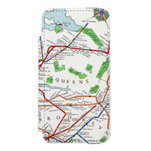 New York Subway Map Wallet.Subway Map Iphone Se 5 5s Cases Zazzle