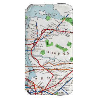 New York: Subway Map, 1940 iPhone 6/6s Wallet Case