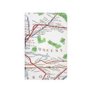New York: Subway Map, 1940 Journal