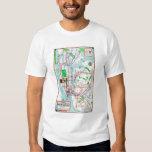 New York: Subway Map, 1940 Tee Shirt