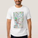 New York: Subway Map, 1940 Tshirts