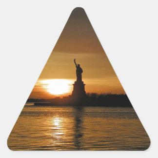 New York Sunset Sticker