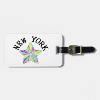 New York Superstar Luggage Tag