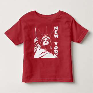 Kids statue of liberty t shirts zazzle for New york custom t shirts