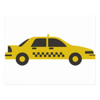 New York Taxi Cab Postcard