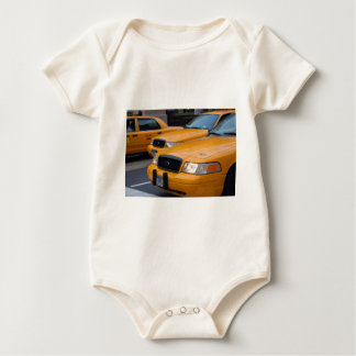 New York Taxi Cabs Baby Bodysuit