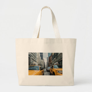 New York Taxi Cabs in the City Tote Bag