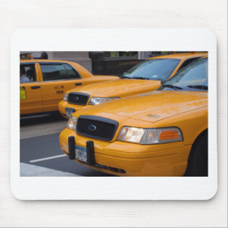 New York Taxi Cabs Mouse Pad