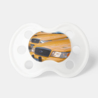 New York Taxi Cabs Pacifier