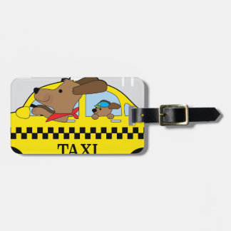 New York Taxi Dog Bag Tag