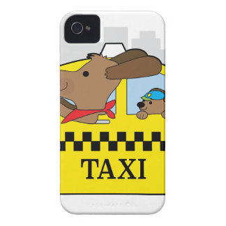 New York Taxi Dog iPhone 4 Cover