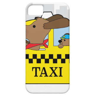 New York Taxi Dog iPhone SE/5/5s Case