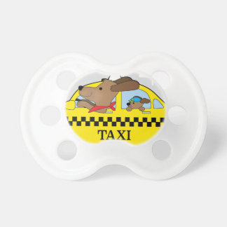 New York Taxi Dog Pacifier
