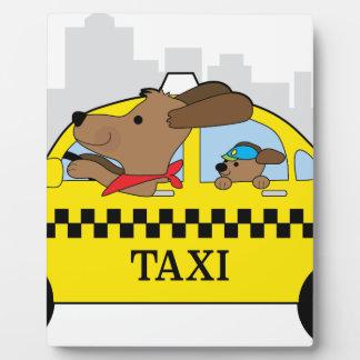 New York Taxi Dog Plaque
