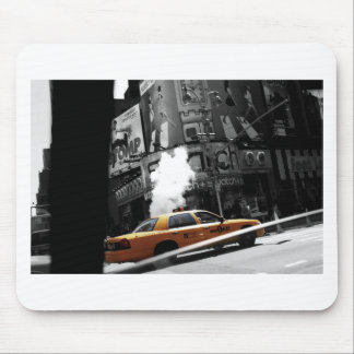 New York Taxi Mouse Pad