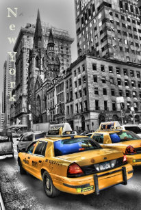 Poster New York Taxi.New York City Taxi Posters Photo Prints Zazzle