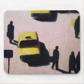 New York Taxis 1990 Mouse Pad